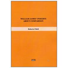 William James' insights about comparison