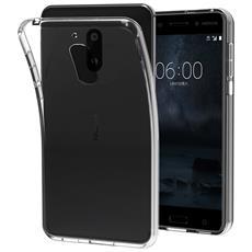 Cover Nokia 6, Digital Bay Cover Nokia 6 [ tpu Shock-absorption] **capsule**crystal Clear** Assorbimento Di Scossa Chiaro Tpu Goccia Protezione, Custodia Nokia 6