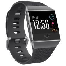 FITBIT - Smartwatch Ionic con GPS Incorporato e Monitoraggio Attività Fisica Colore Nero / Grigio - Europa