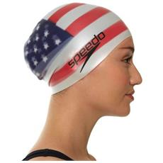 National Flag Silcon Cap Cuffia Piscina