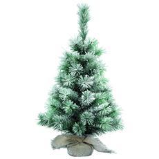 Albero di Natale Artificiale Pino Nevato da 75 cm