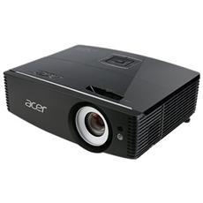 Proiettore P6200 DLP XGA 5000 ANSI Lumen Rapporto di contrasto 20.000: 1 HDMI / VGA / USB
