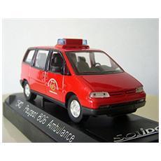 1540 Peugeot 806 Ambulance 1995 1/43 Modellino