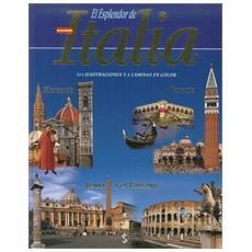 Splendore d'Italia. Ediz. spagnola