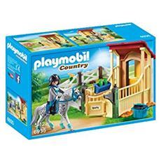 Playset Stalla con Cavallo Appaloosa