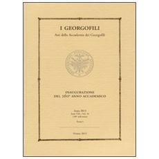 I Georgofili. Atti della Accademia dei Georgofili. Vol. 10/1