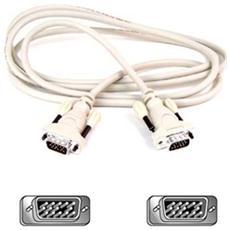 Cavo per Monitor VGA HDDB15 Maschio / Maschio 3m Colore Bianco