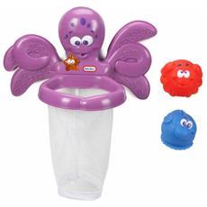 Sparkle Bay Octo Hoops, Giochi per il bagno, Ragazzo / Ragazza, Porpora, Plastica, CE, AG13