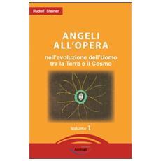 Angeli all'opera nell'evoluzione dell'uomo fra la terra e il cosmo. Elementi conoscitivi sul divenire umano