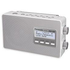 RF-D10EG Radio Portatile Sintonizzatore DAB / DAB+ colore Bianco