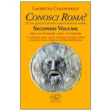 Conosci Roma? . Vol. 2