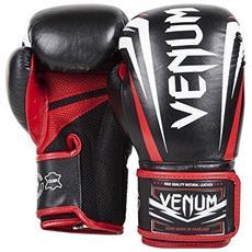 Guantoni 10 OZ Sharp black-ice-red per Boxe, Kick Boxing, Muay Thai