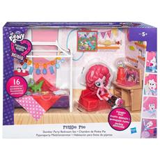 My Little Pony - Equestria Girls - Playset Cameretta Di Pinkie Pie
