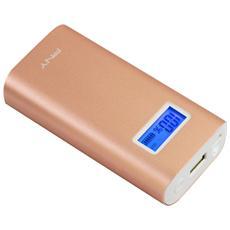 Powerpack Digital da 5200 mAh - Oro / Rosa
