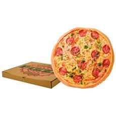 Cuscino Pizza Peluche Cushion 40 X 40 Cm New