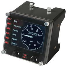 Saitek Pro Flight Instrument Panel - Pannello per simulatore di volo -