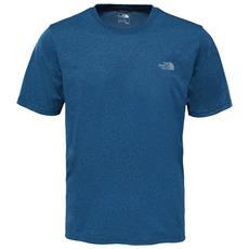 T-shirt Uomo Reaxion Ampere Crew Azzurro S