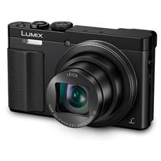 PANASONIC - Lumix TZ70 Nero Sensore MOS Zoom Ottico 30x Display 3' Filmati Full HD Stabilizzato Wi-Fi / NFC