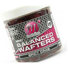 Boilies High Impact Balanced Wafter Spicy Crab 15 Mm Rosso Unica
