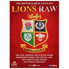 The British & Irish Lions 2013: DVD di Lions Raw (Behind The Scenes Documentary)