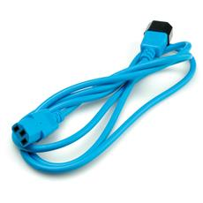 Monitor Power Cable, blue 1.8 m