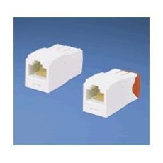 UTP RJ-45 TG-MiniJack kat5E White Bianco cavo di interfaccia e adattatore