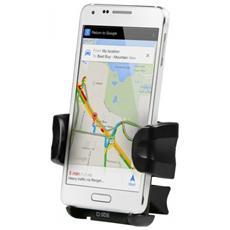 """Supporto Universale da Auto Freeway per Smartphone fino a 5"""" Nero"""