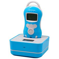 Baby Monitor digitale colore Celeste e Bianco