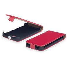 Cover Custodia Kabura Per Iphone 6 - 4,7pollici A Portafoglio Con Apertura Verticale In Similpelle Rosso Red Elegante E Resistente