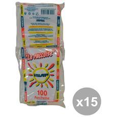 Set 15 Forchette X 100 Pezzi Bianche Art. 793546 Bicchieri