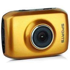 Sport Cam Action Camera Camcorder Arancio