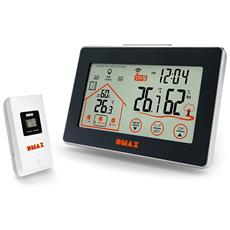 Temperatura e Igrometro Station con Ventilazione Raccomandazione e Touch Screen con sensore Esterno