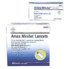 Ames Minilet Lancet 25pz