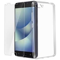Cover Zenfone 4 Max Pro / Plus Zc554kl Q6 + Pellicola Vetro Temperato 4smarts