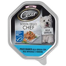 Scelta Dello Chef Pesce Bianco Alla Griglia E Riso Integrale E Verdure 150 Gr