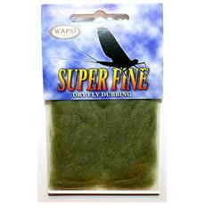 Super Fine Dryfly Dubbing Unica Grigio Verde