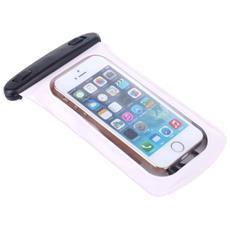 Custodia Subacquea Universale Per Cellulari E Smartphone Bianca Cm 9 X15,5