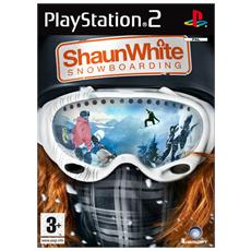 PS2 - Shaun White Snowboarding