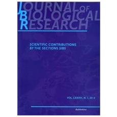 Journal of biological research (2013) . Vol. 1