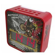 Radiosveglia Action Hero - Modello UR270RO