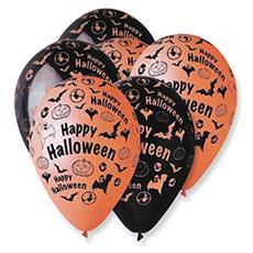 Palloncinio Halloween in lattice quantità 10