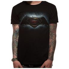 Batman Vs Superman - Logo (T-Shirt Unisex Tg. L)