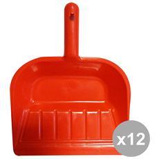 Set 12 Paletta Immondizie Plastica Art. 0480 Attrezzi Pulizie
