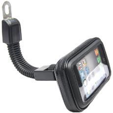 Supporto Bicicletta Trasparente Schermo Waterproof Per 5.5/6'' 360 Gradi Rotazione Porta Cellulare Universale Moto Smartphone