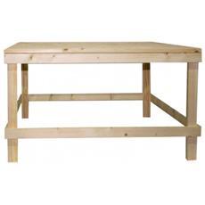 Tavolo Tavolini Da Salotto Legno Chiaro Pallet Rustico Country