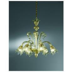 Illuminazione 1036 - Lampadario Vetro Di Murano