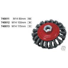 Spazzola Circolare Metallica M14 100mm.
