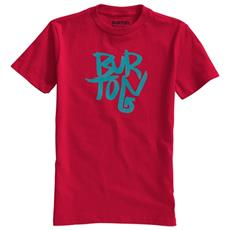 T-shirt Bambino Stacked L Rosso