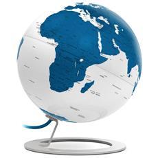 Mappamondo Luminoso I-globe Light Blue, Blu