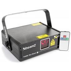 Effetto Luce Laser Dmx Rosso Telecomando Classe 3b 150mw